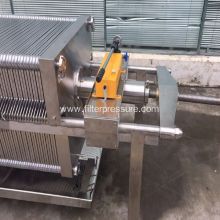 Stainless Steel Plate Filter Press For Liquid Filtration