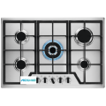 Gas Hob On Glass Electrolux 5 Burner
