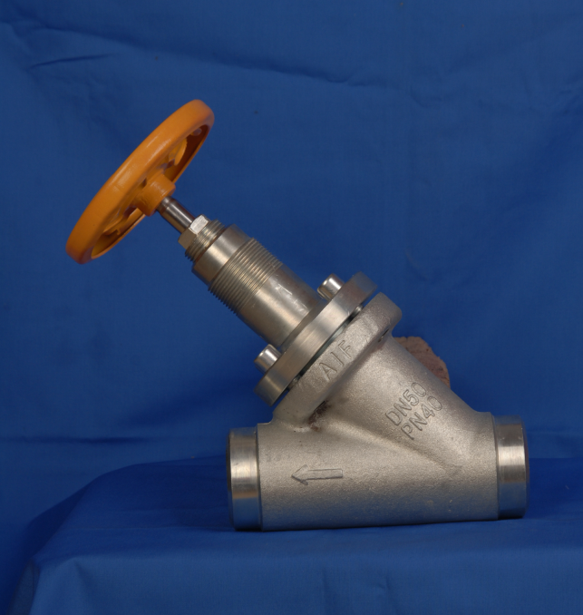 Forged Steel Oblique  Globe Valve for Ammonia