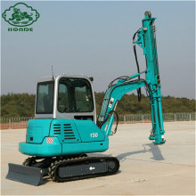 China for Screw Pile Machine Post Piling Foundation Machine For Sale supply to Oman Manufacturers