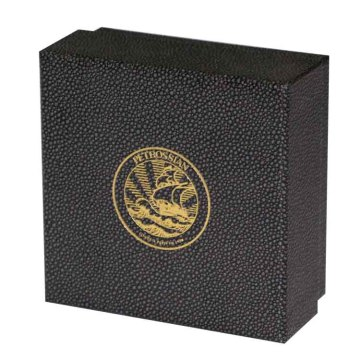 Foil Logo Boxes With Lid For Jewelry Packaging