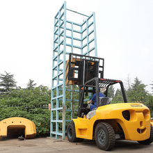 Professional for 7 Ton Diesel Forklift ISUZU engine New 7 t forklift truck export to Honduras Supplier