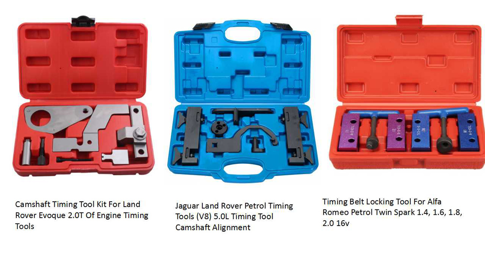 Engine timing tools for Alfa Remeo Land Rover Jaguar