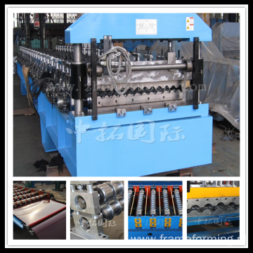 corrugated roof machine 3 tons light weight roll forming machine price