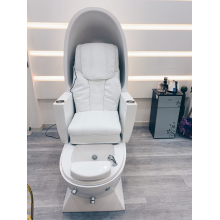 Spa pedicure chair with massage