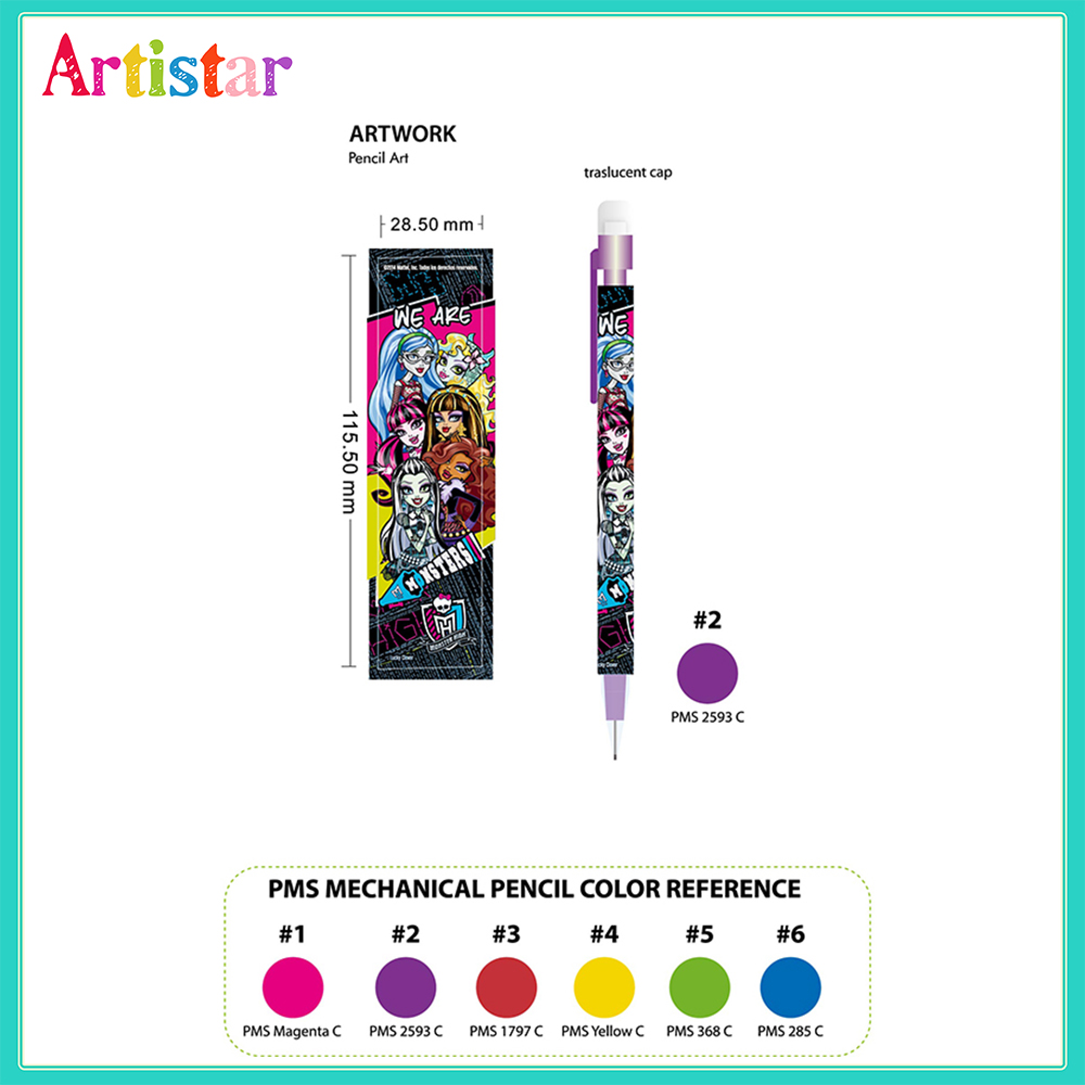 Monster High Single Mechanical Pencils