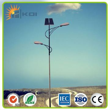 30W LED solar street light pole manufacturer