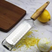 Handheld Stainless Steel Chocolate Grater with Cheesecloth