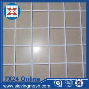 White PVC Coated Welded Wire Mesh