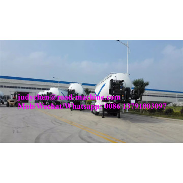Sinotruk 3 axles 40m3/35t bulk cement semi trailer