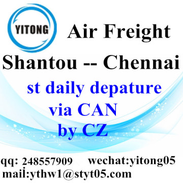 Shantou International Air Freight Forwarding to Chennai