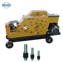 Customized Supplier for for Steel Rebar Cutting Machines Electric Steel Bar Thread Cutting Machine Hydraulic Cutter supply to United States Factories