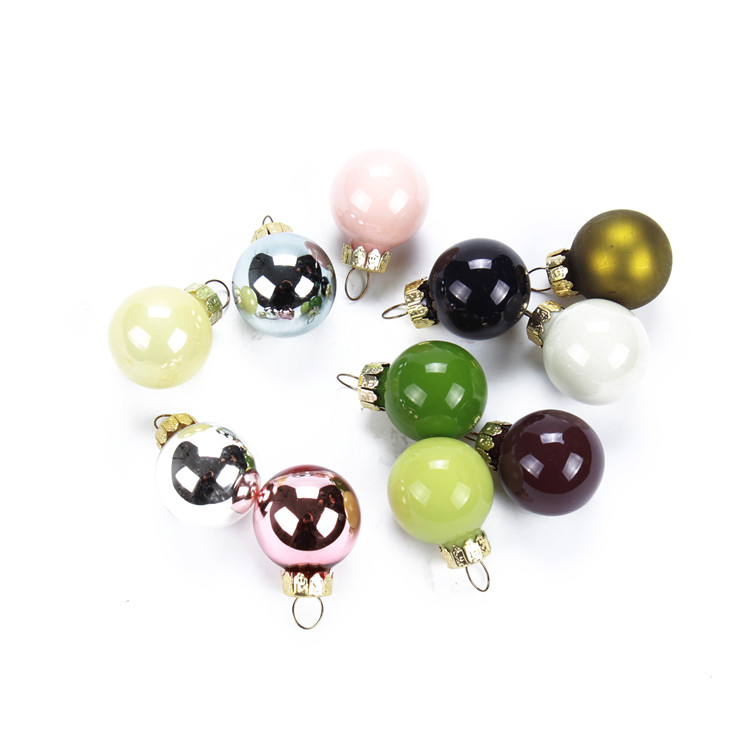 multicolor mini glass ball