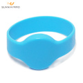 13.56mhz MIFARE Ultralight Silicone RFID Bracelet