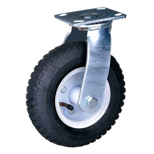 200mm heavy duty pneumatic wheel casters