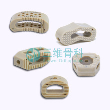 Spinal Interbody Fusion Cage Lumbar Cage PEEK Material