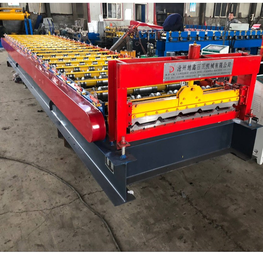 Trapezoid Roll Forming Machine