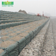 Galvanized PVC Coated Hexagonal 2.7mm Gabion Box