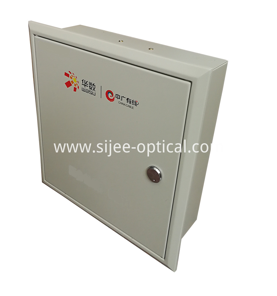 FTTH Wall Mounted Optical Splitter Distribution Box