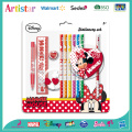 Disney Minnie stationery set