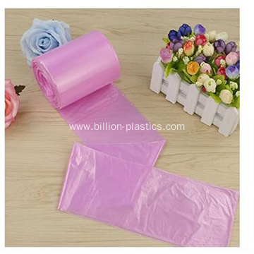 Colorful Rubbish Bag with Star Seal