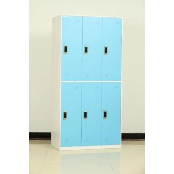 steel 6 door locker for gyms