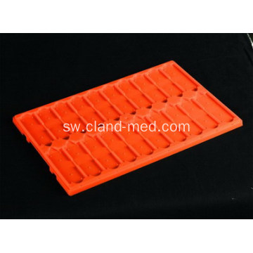 Microscope ya plastiki Slide Tray 20pcs