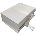 Elegant Custom Wedding Gift White Box