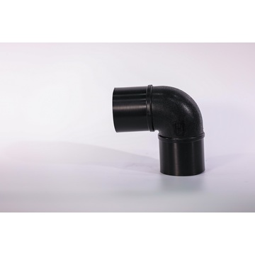 HDPE pipe fitting 90 degree elbow