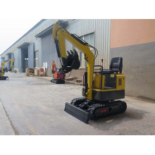 Location d'une mini-pelle 0.8T Small Digger
