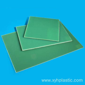 Light Green Epoxy Glass Cloth G10 FR4 sheet