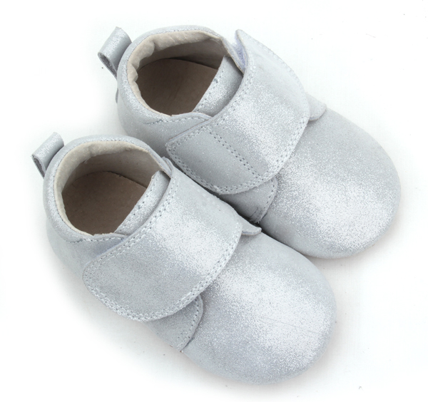 Fashion Style Silver Baby Casual Leather Shoes Children Wholesale