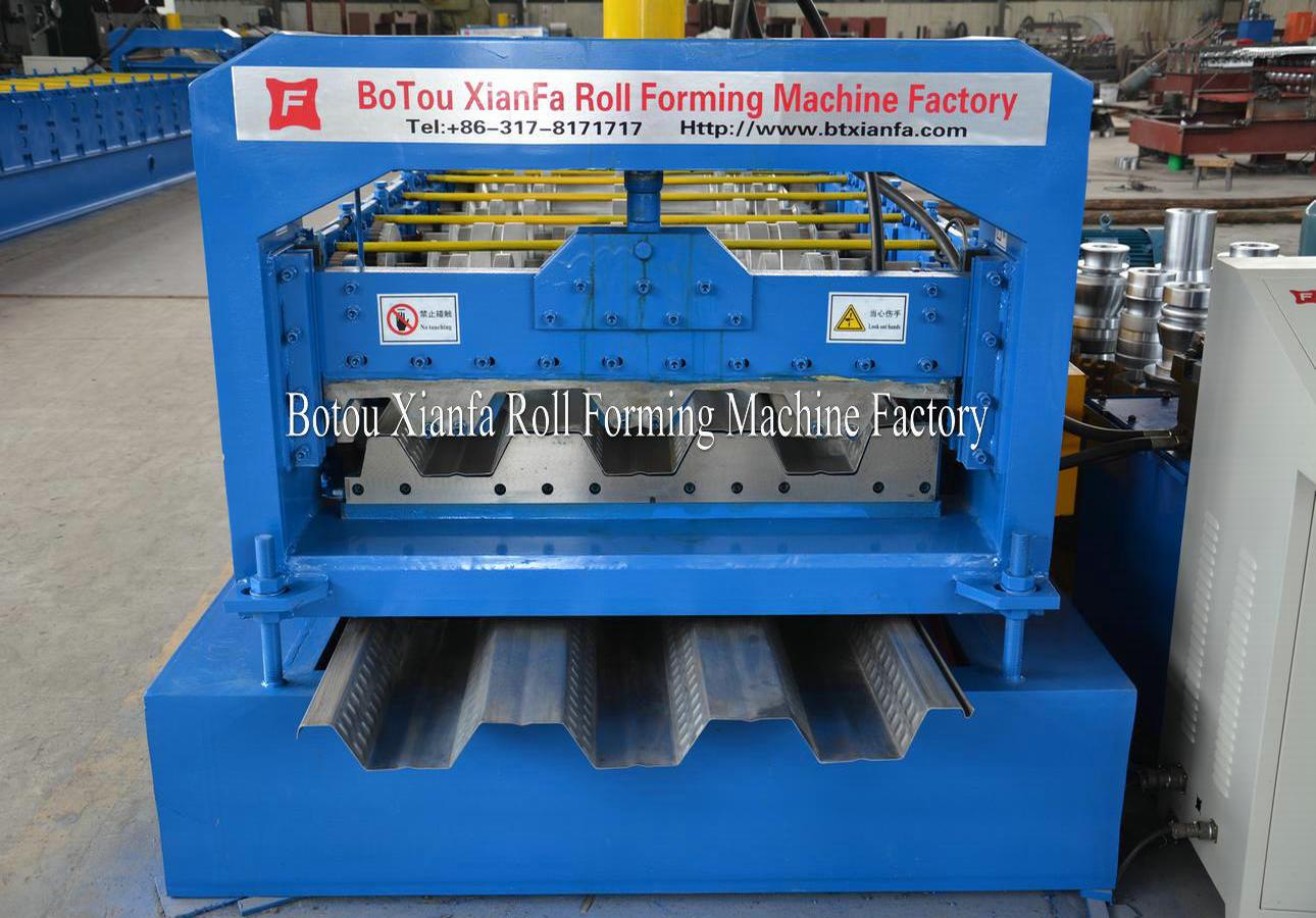 deck roll forming machine