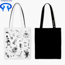 Custom-made single-shoulder bag pure cotton shopping bag