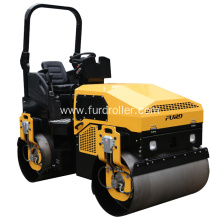 China for Compaction Roller Ride-on Double Drum Water-cooled Diesel Roller Compactor supply to Montserrat Factories