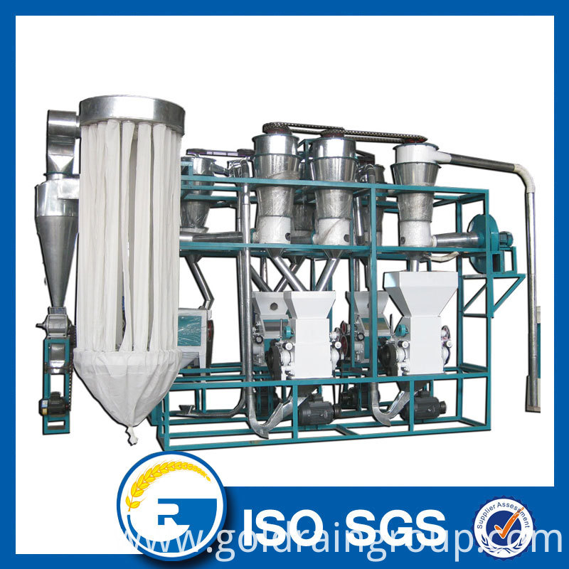 10 ton per day wheat flour mill