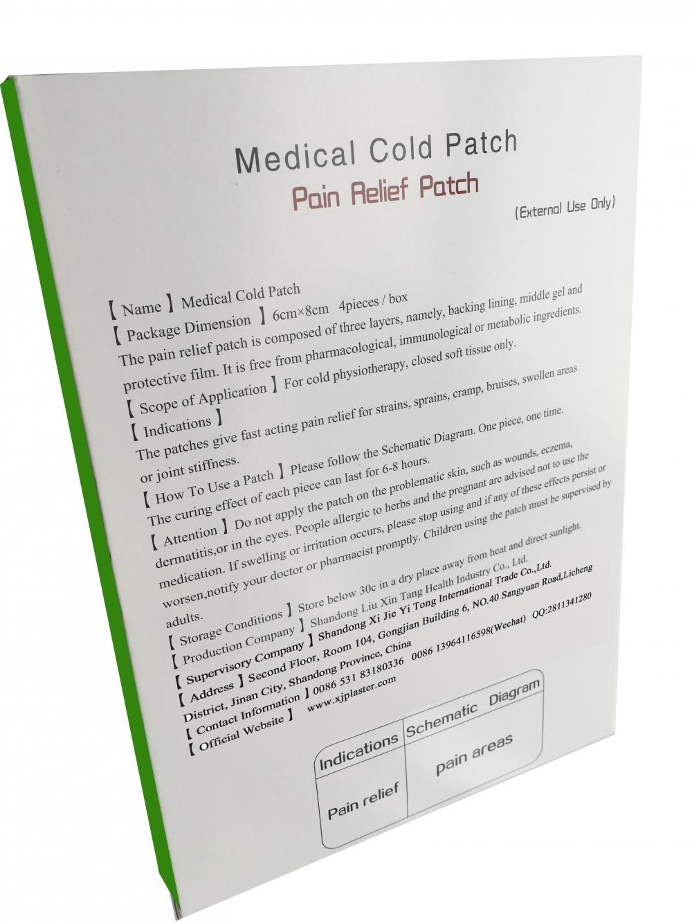 The Pain Relief Patch