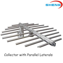 Collector With Parallel Laterals for Water Distribution