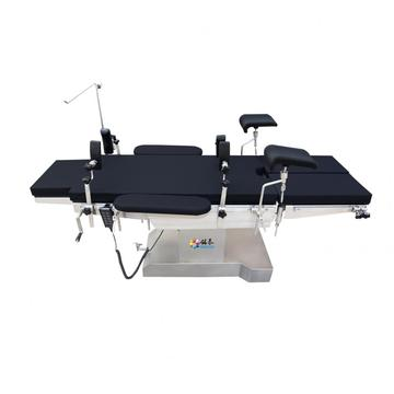 Gynecological endoscopic surgery table