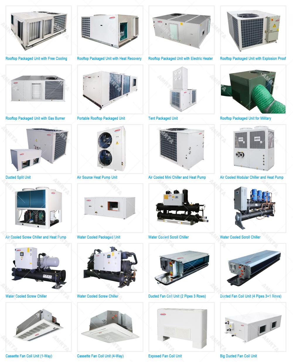 Amrta Air to Water Chiller for Industrial