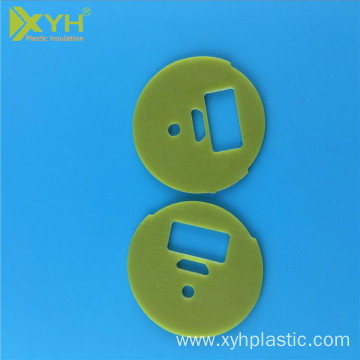 Heat resistant epoxy fiberglass insulated plate