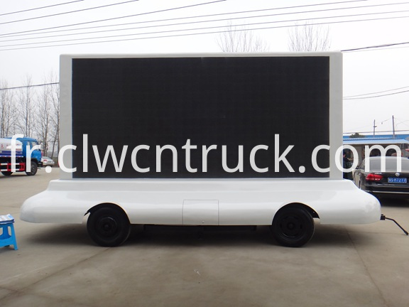 Mobile LED Advertising Trailer