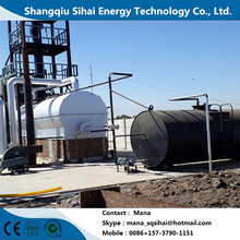 New Product for Used Motor Oil Regeneration Plant 20-30 tons distillation plant for motor oil supply to Togo Factories