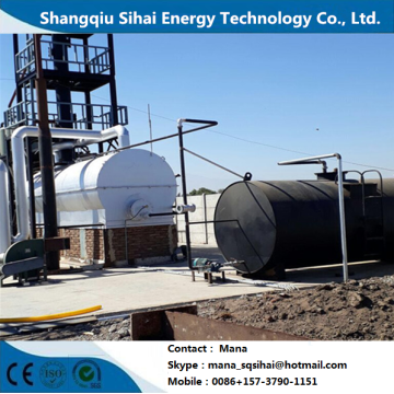 20-30 tons distillation plant for motor oil