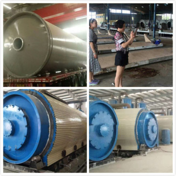 fuel from waste tyres pyrolysis machine