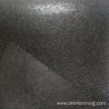 Thermo-bond scatter dot non woven fusible interfacing fabric