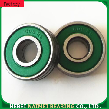 Chrome steel single row deep groove ball bearing