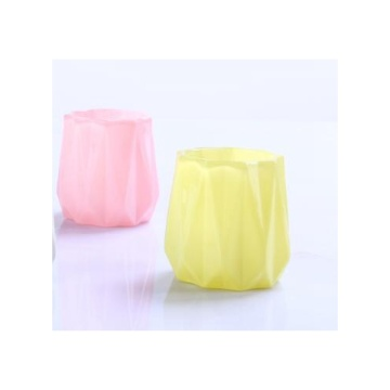 Glass Colorful Elegant Tealight Candle Holder