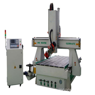 Router CNC with 4 axis 1325