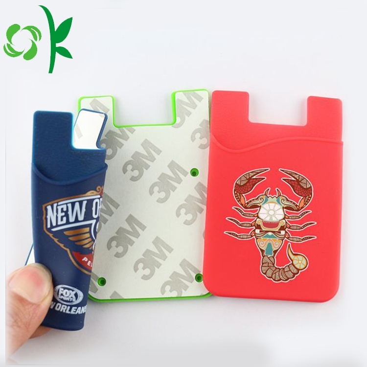 Adhesive Cell Phone Card Holder
